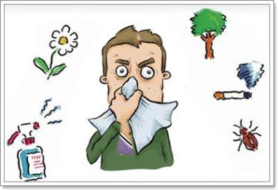Аллергический насморк, симптомы, лечение