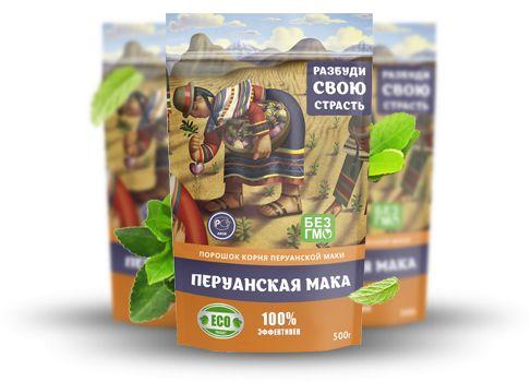 упаковки перуанской маки