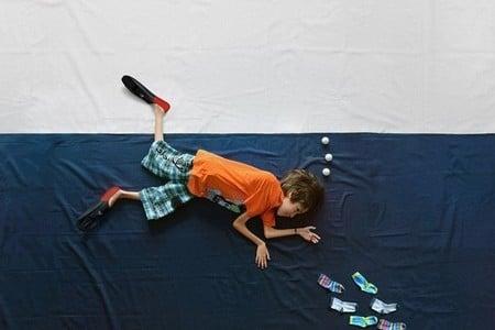 Мальчик с мышечной дистрофией