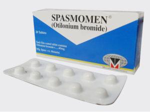 Таблетки Спазмомена