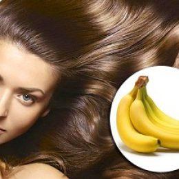маска для волос на основе банана