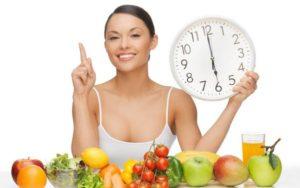 Важно соблюдать диету и режим питания