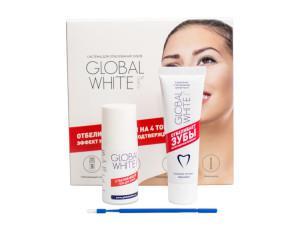 Инструкция по применению системы для отбеливания чувствительных зубов Global White
