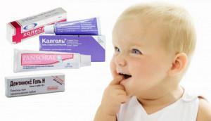 Как выглядят набухшие десна ребенка в период прорезывания первых зубов: симптомы у грудничка с фото