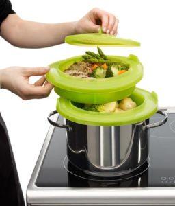 Продукты готовить рекомендуется на пару, тушить или варить
