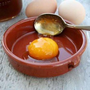 маска для волос из яйца, йогурта и масла оливы