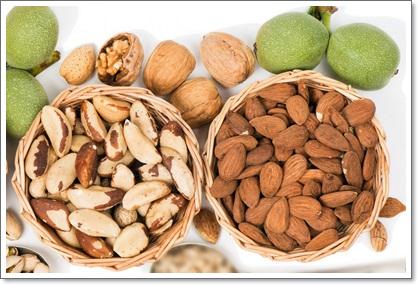Польза орехов миндаль, кешью, фисташки и грецкие орехи