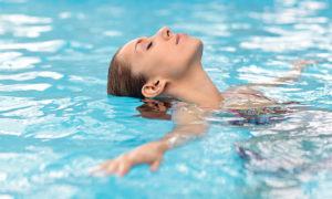 Посещение водных и расслабляющих процедур