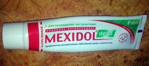 Показания и инструкция по применению зубной пасты и ополаскивателя для рта Mexidol Дент