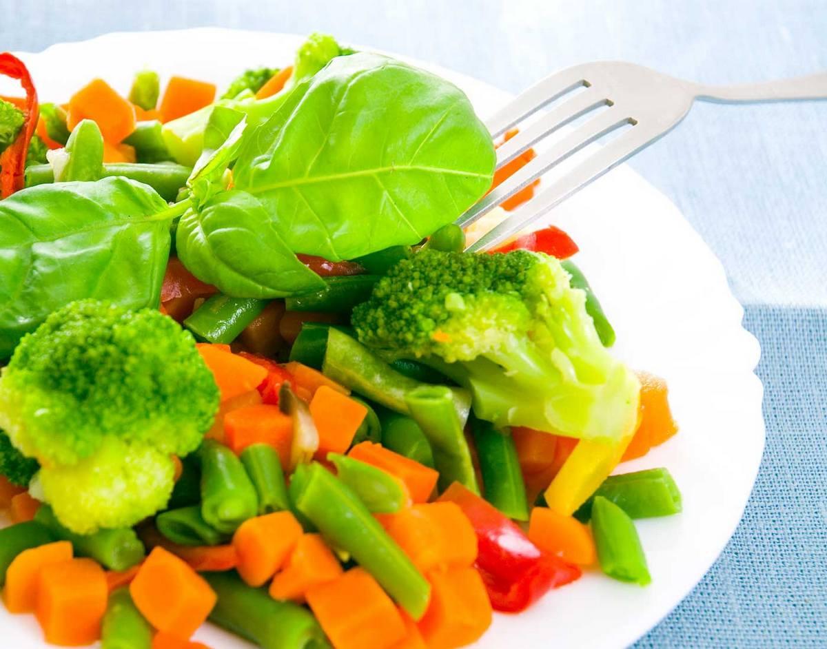 Приготовление и употребление овощей