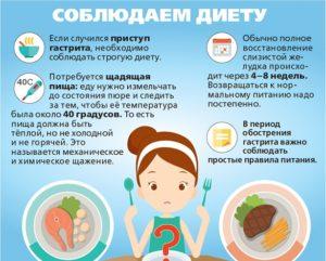 Соблюдение диеты при гастрите играет важную роль в его лечении