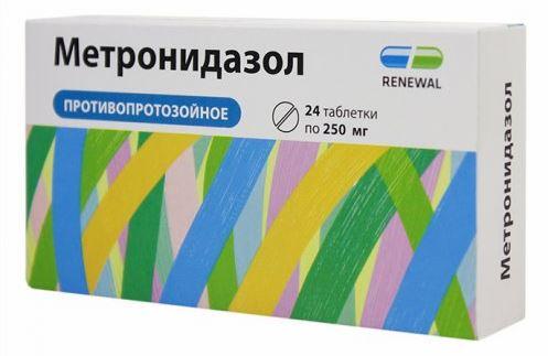 Амоксициллин с Метронидазолом