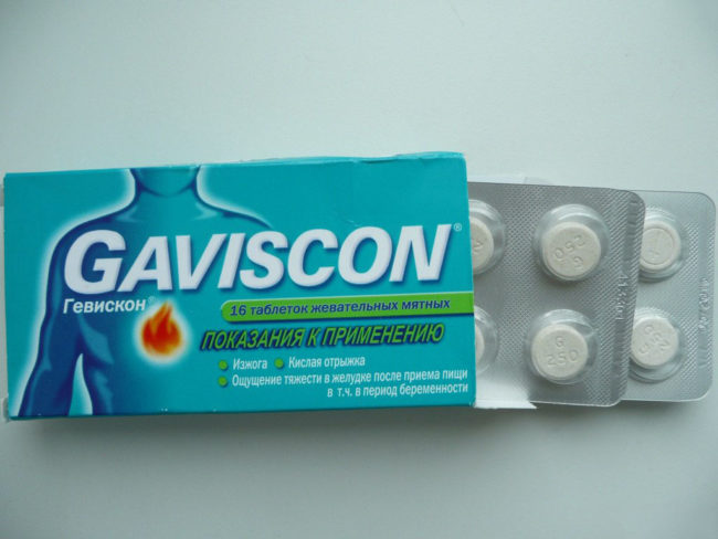 Гевискон фармакология
