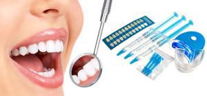 Системы экспресс отбеливания зубов White Smile, Glo и My инструкция по использованию
