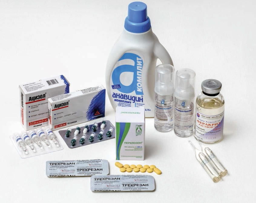 Разнообразие медикаментозных средств