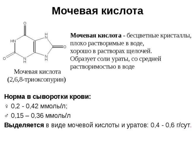 Как вывести из организма мочевую кислоту с помощью питания