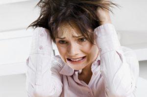Стресс - одна из причин заболевания
