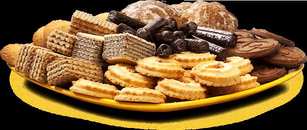 Сладкие печенья, вафли