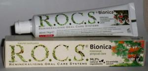 Состав и свойства зубных паст РОКС: Сенситив, Активный кальций, Бионика и другие