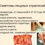 Пищевые и химические отравления