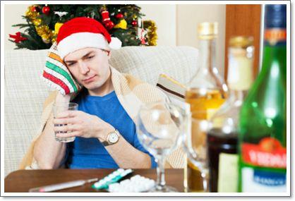 Как отойти от новогоднего застолья: избавляемся от похмелья